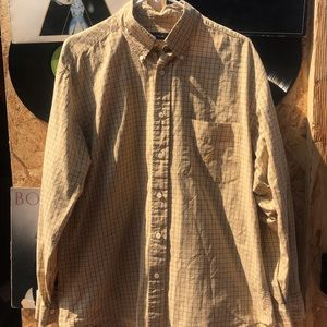 Vintage Nautica Button Up Long sleeve shirt XL